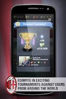 Screenshot of AC Milan Fantasy Manager '14