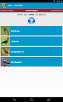 Screenshot of UK Birds Sounds
