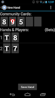 Screenshot of Poker Session Logger