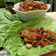 Oriental Chicken Lettuce Wraps