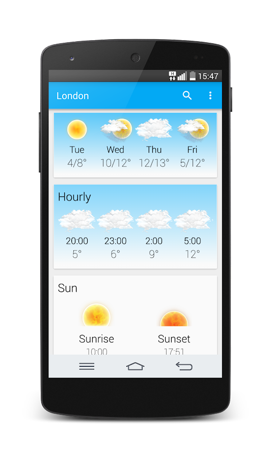 Weather Animated Widgets Screenshot 1