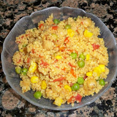 Curried Couscous With Chickpeas