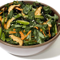 I Am Giving Marinated Kale Salad Recipe