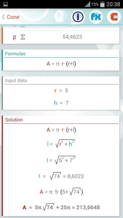 Geometry Solver Pro Screenshot 2