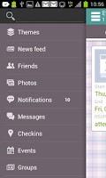 Screenshot of Socially - Themes for Facebook