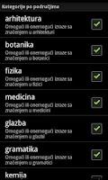 Screenshot of Bratoljub: igra s riječima