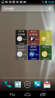 Screenshot of Digital Currency Widget