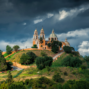 Cholula by Cristobal Garciaferro Rubio - Landscapes Cloud Formations ( cholula, mexico, puebla )