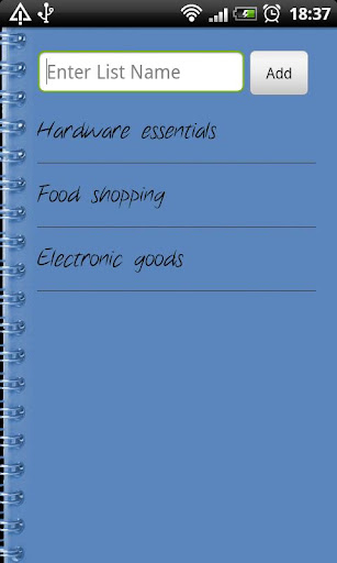 Super Shopping List