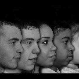We are family by Simon Pickles - People Family ( canon, speedlight, 7d, strobist, family, 17-40l, composite, portrait )