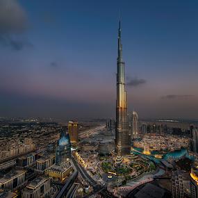 Burj khalifa 2  by Wael Onsy - City,  Street & Park  Street Scenes ( #landscape, #dubai, #mydubai, #burj khalifa )