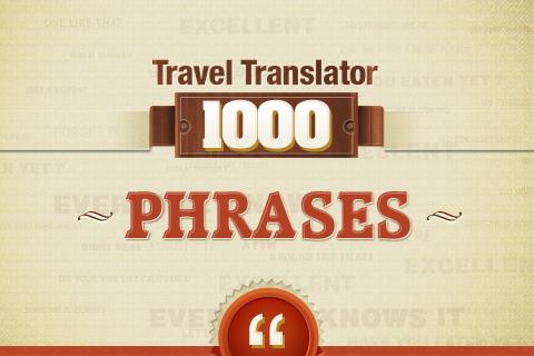 Travel Translator