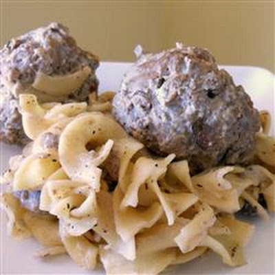 Swedish-ish Meatballs