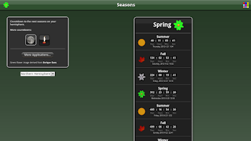 Screenshot of Seasons