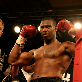 Elijah McCall is Victorious. by Stephen Jones - Sports & Fitness Boxing