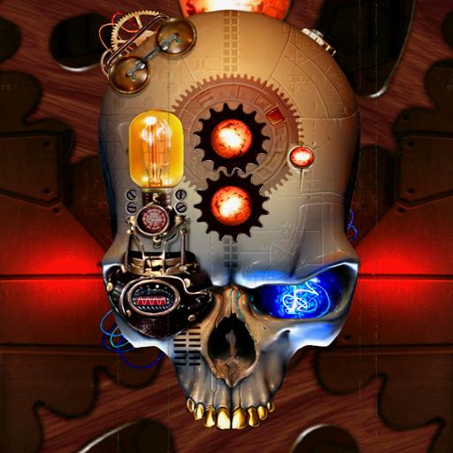 蒸汽朋克骷髏動態壁紙 個人化 App LOGO-APP試玩