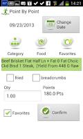 Screenshot of Point by Point - Diet Lite