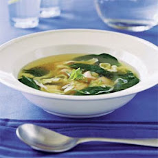 Salmon Egg-Drop Soup