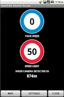 Screenshot of SpeedCam Detector FREE