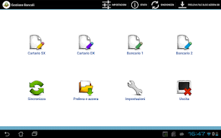 Screenshot of Gestione Inventario