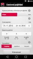 Screenshot of Mobilní banka 2