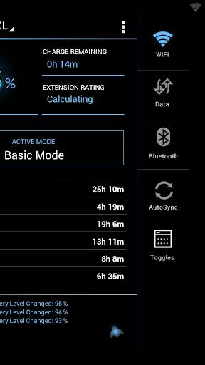 【免費生產應用App】BatteryXL Free - Battery Saver-APP點子