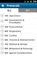 Screenshot of UPMC EMS Navigator