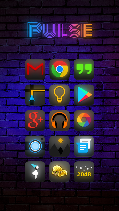 Pulse Icon Pack Screenshot 0