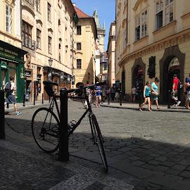 Praga by Kseniya Maksimenko - City,  Street & Park  Street Scenes ( travel )