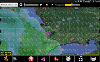 Screenshot of PathAway GPS Outdoor Navigator
