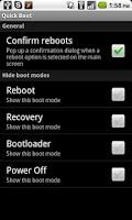 Screenshot of Quick Boot (Reboot)