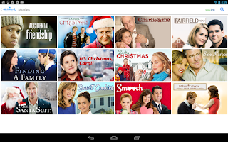 Screenshot of Hallmark Channel Everywhere