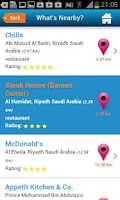Screenshot of Riyadh Hotels Map & Guide