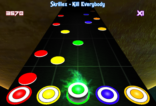 Dubstep Hero - screenshot
