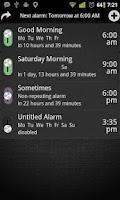 Screenshot of AlarmDroid Pro [Extension]