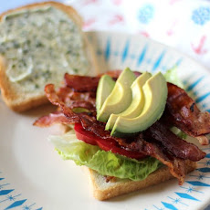 California BLT with Avocado and Basil Mayonnaise