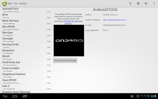 Screenshot of Boot Animation Changer