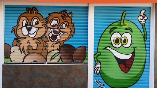Graffiti Frutos Secos