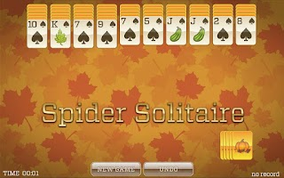 Screenshot of Fall Solitaire FREE