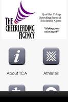 Screenshot of The Cheerleading Agency