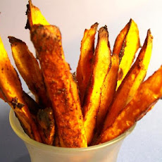 Roasted Sweet Potato Spears