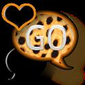 GO SMS THEME/OrangeCheetah icon