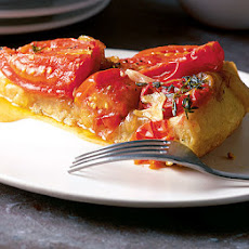 Tomato & Caramelised Onion Tart Tatin