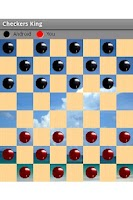 Screenshot of Checkers King Free