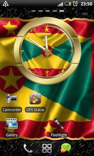 Grenada flag clocks