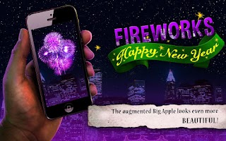 Screenshot of Happy New Year Fireworks