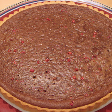 Chocolate Mousse and Pink Peppercorns Tart