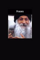 Screenshot of frases do OSHO