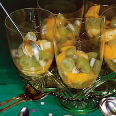 Fruit Cup with Lime Syrup