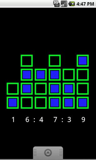 【免費個人化App】Binary Clock Wallpaper-APP點子